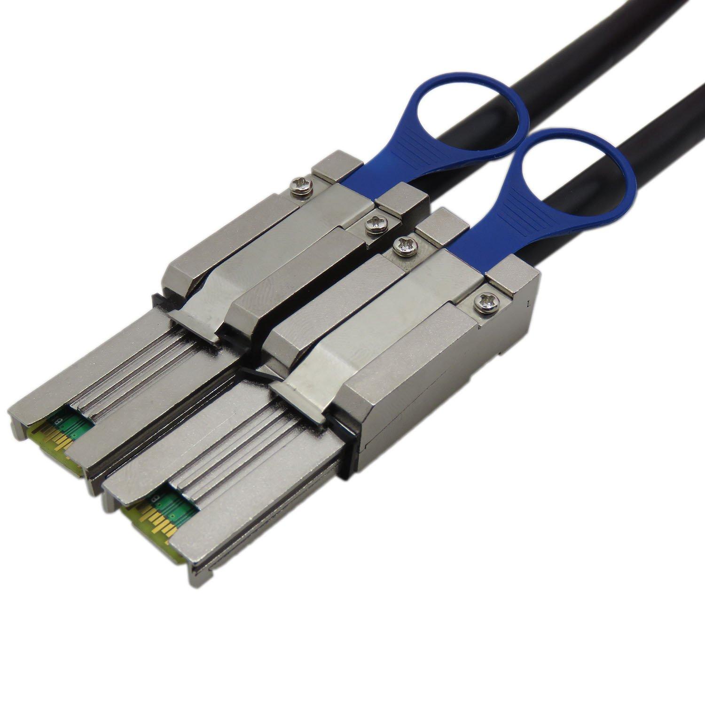 CableDeconn Mini SAS26P SFF-8088 To SFF-8088 1M External Cable Attached SCSI