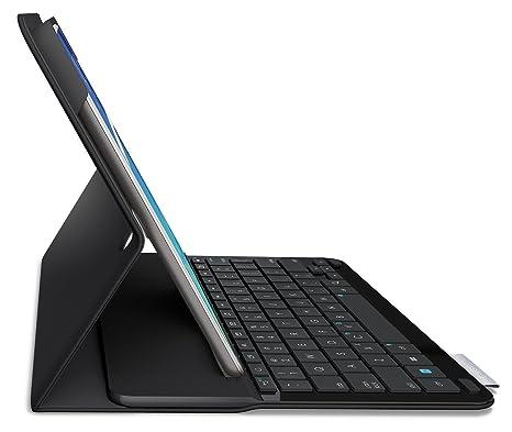 Logitech Type S – Funda con teclado para Samsung Galaxy Tab A 9.7 (Reacondicionado Certificado