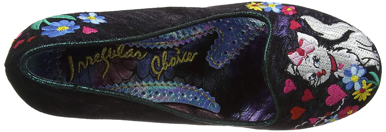 Irregular Choice Choice Choice Damen Feather & Catglow Pumps 5440d2