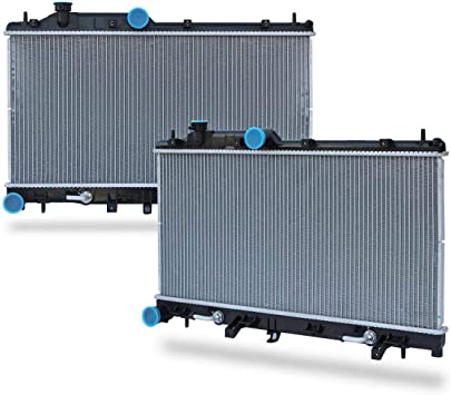 amazon com 1 row cu2778 radiator 16mm replacement for legacy outback 2005 2006 2007 2008 h4 2 5l automotive 1 row cu2778 radiator 16mm replacement for legacy outback 2005 2006 2007 2008 h4 2 5l