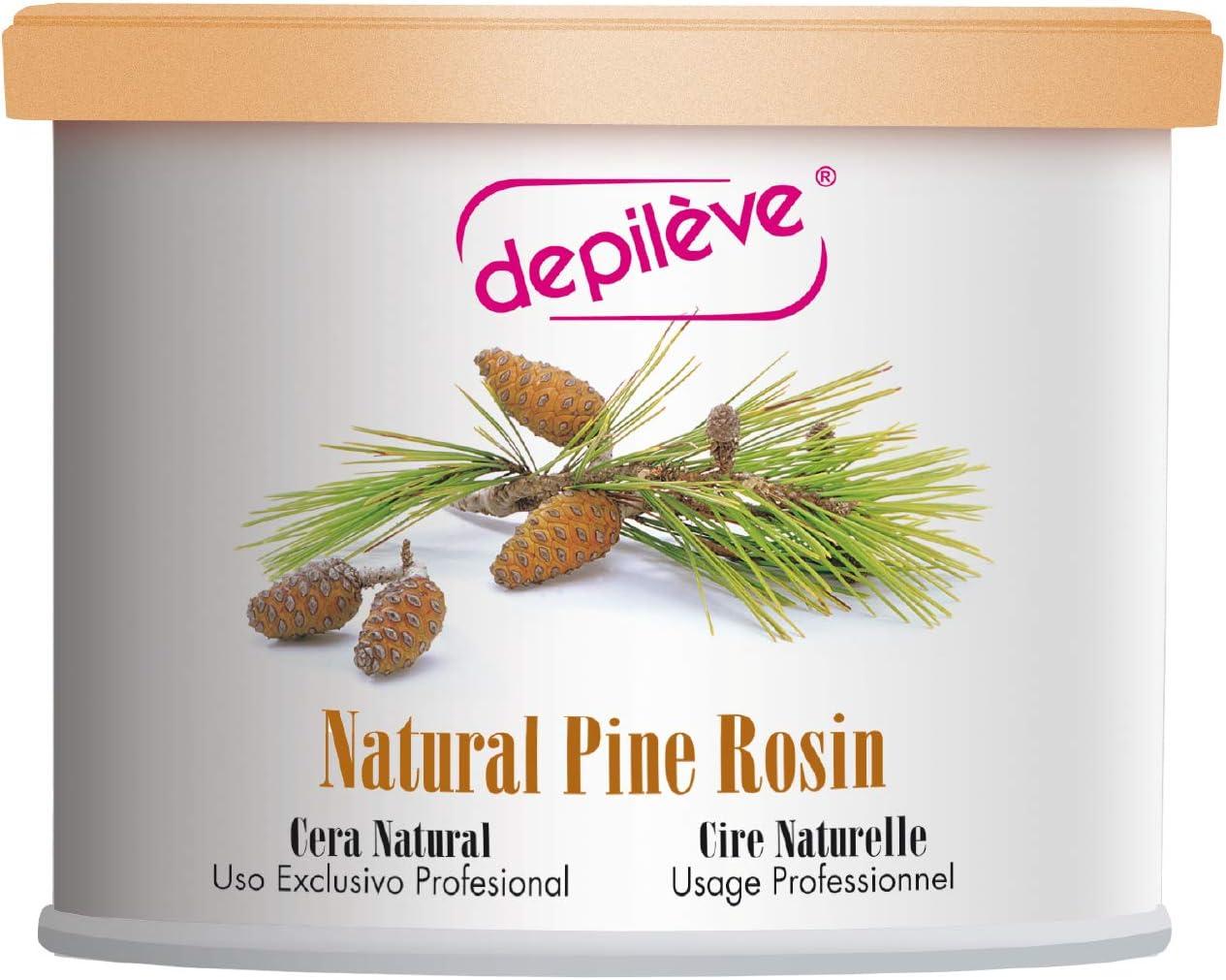 "Depileve Strip Wax for Hair Removal -Pine Rosin Wax 14 oz -The""Original"" All-Purpose Pine Rosin Depilatory Wax -Fine Hair Wax -Full Body Wax"