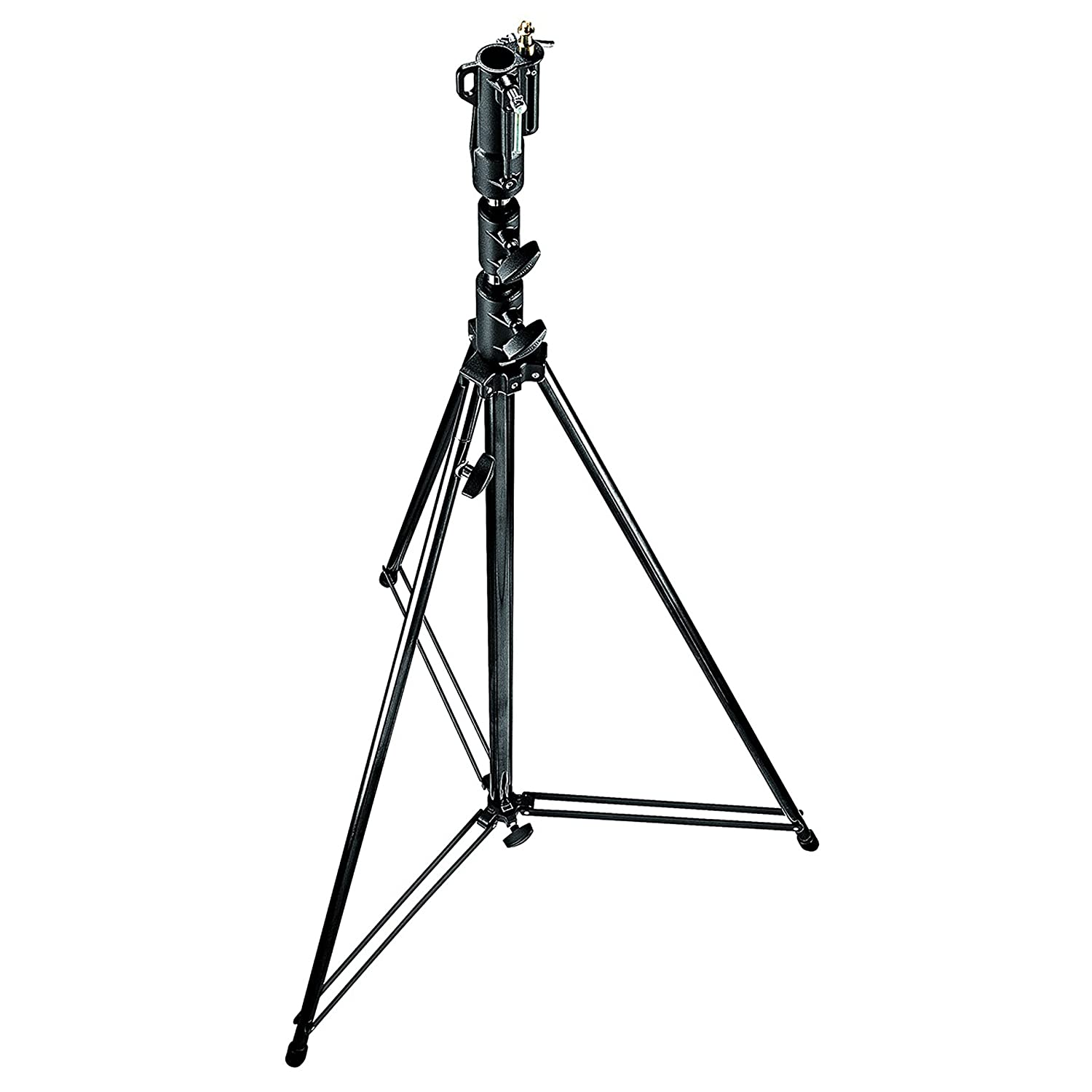 Treppiede professionale portata 20 kg braccio regolabile: 210-470 mm custodia inclusa ingombro 45 cm per treppiedi Kingjoy Dolly VX600D