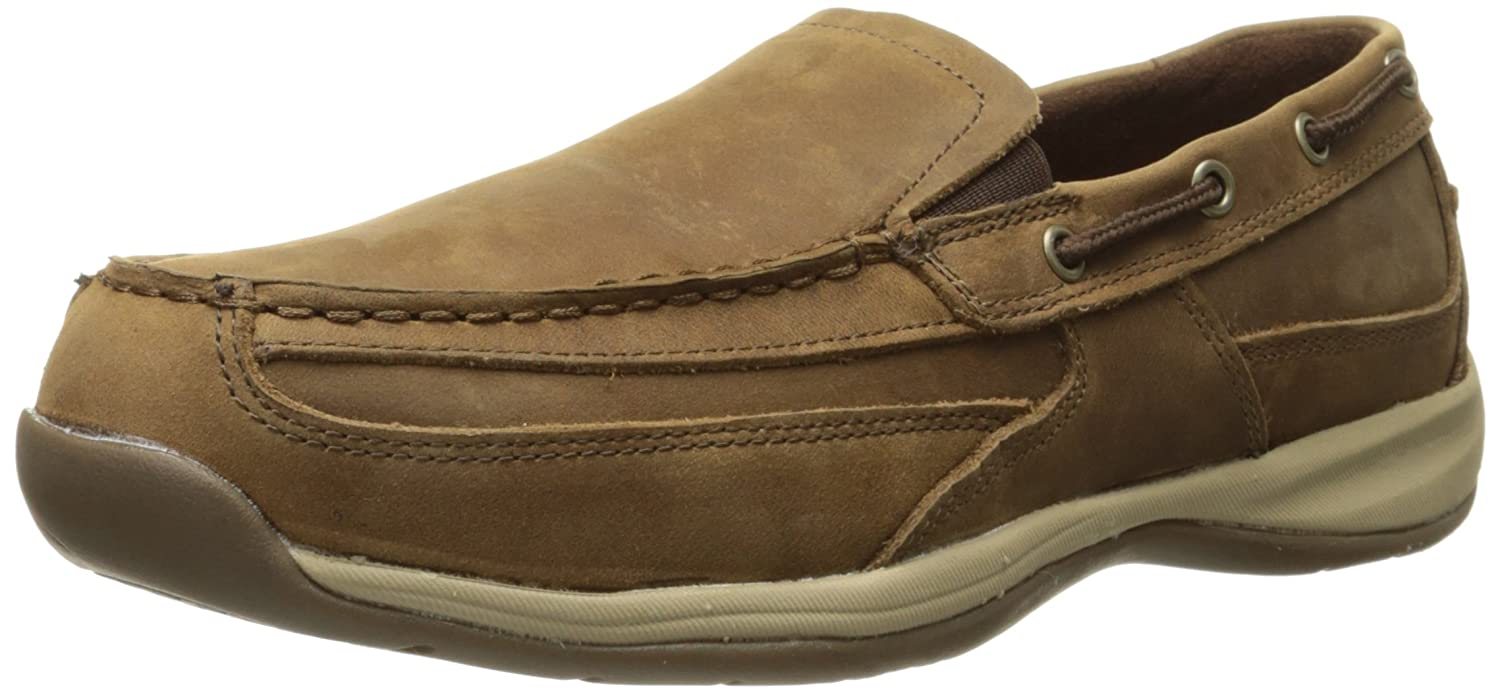 Amazon.com: Rockport Work Men's Sailing Club RK6737 Slip On Boat Shoe: Shoes