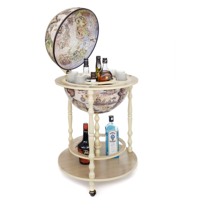 Globe Bar Elfenbein *hergestellt in Italien* mit Echtheitszertifikat ...