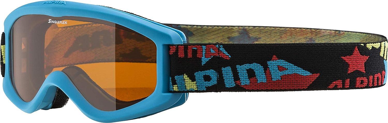 Alpina Skibrille Carvy 2.0, Gafas infatiles de esquí
