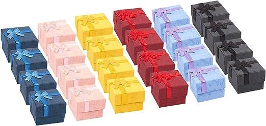 Amazon.com: Juego de cajas de regalo de 24 piezas: caja de ...