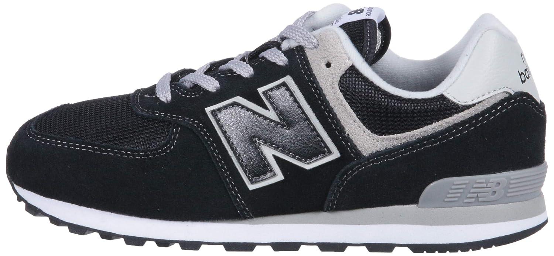 New New New Balance - Unisex-Baby 574 IC574 Schuhe 22.5 EUR - Width W schwarz grau a62866