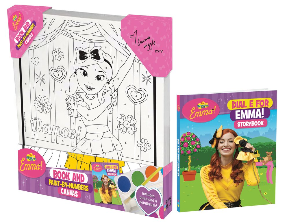 The Wiggles Emma!: Book and Paint by Numbers Canvas pdf epub