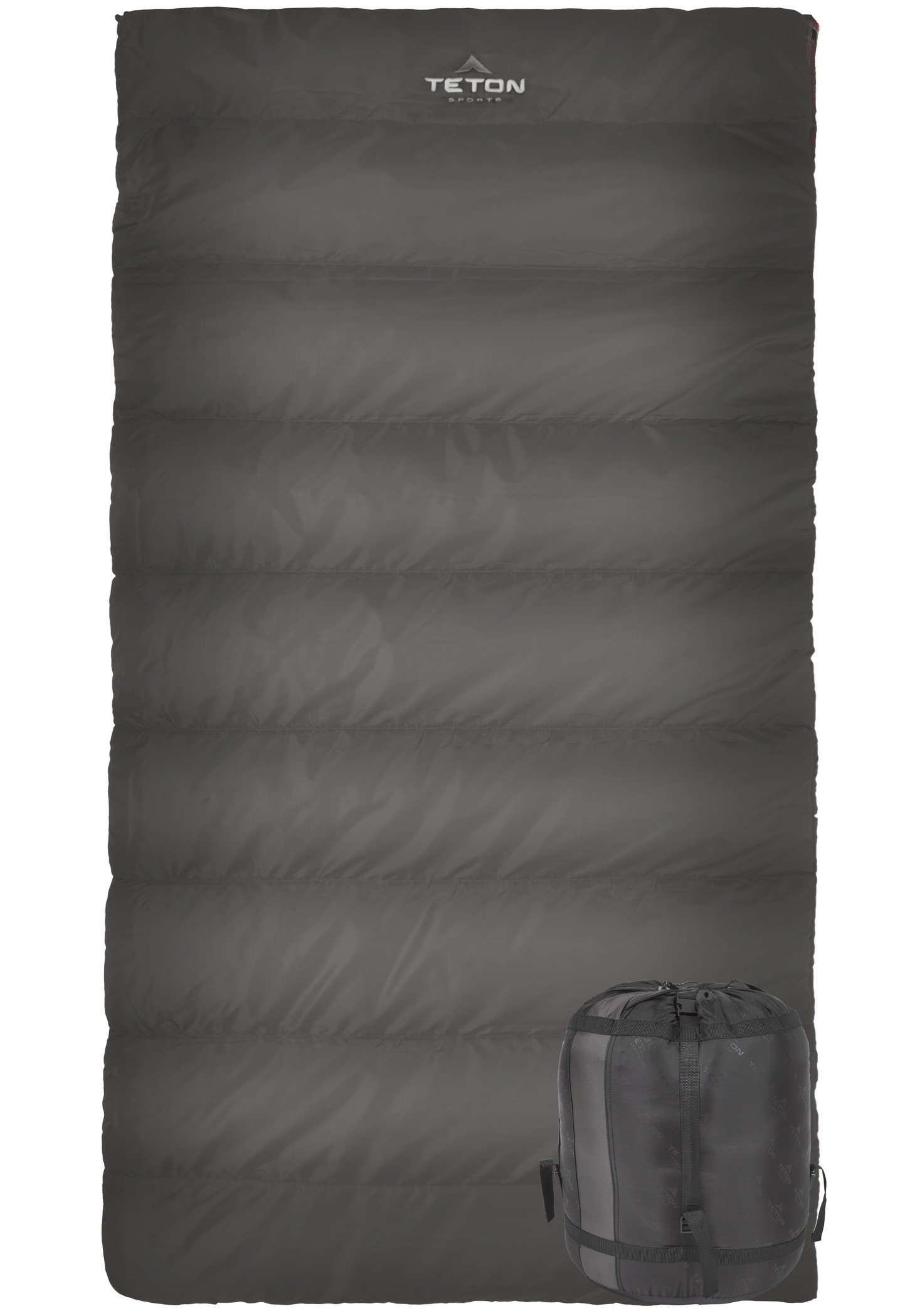 TETON Sports Celsius Hybrid XL Sleeping Bag Lightweight Sleeping Bag Great For Cold Weather Camping And Hunting Great To Come Back To After A Long Day On The Trail Compression Sack Included