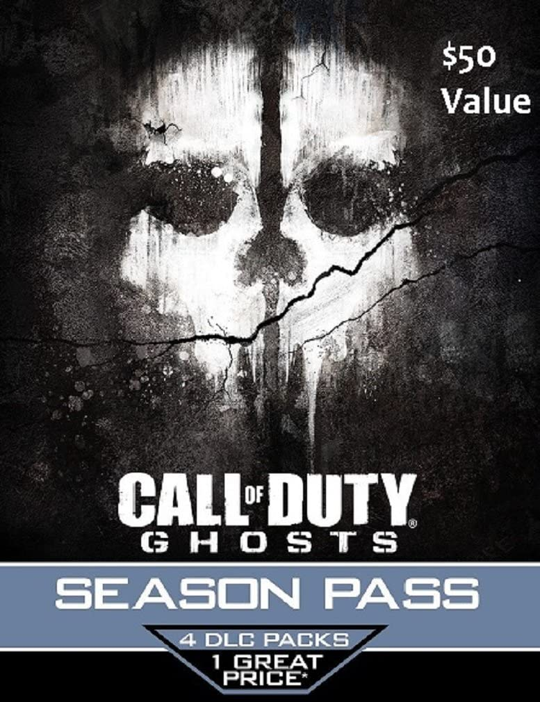 Call of Duty Ghosts Season Pass Card - Playstation 4 & Playstation 3 Sony