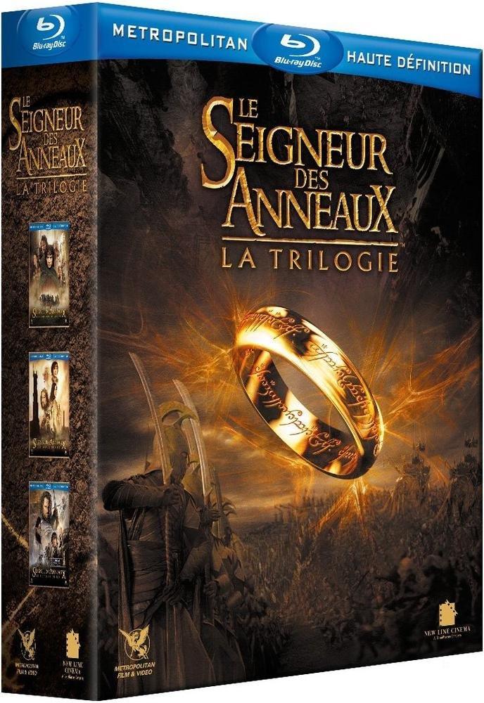 Le Seigneur des Anneaux : La Trilogie Francia Blu-ray: Amazon.es ...