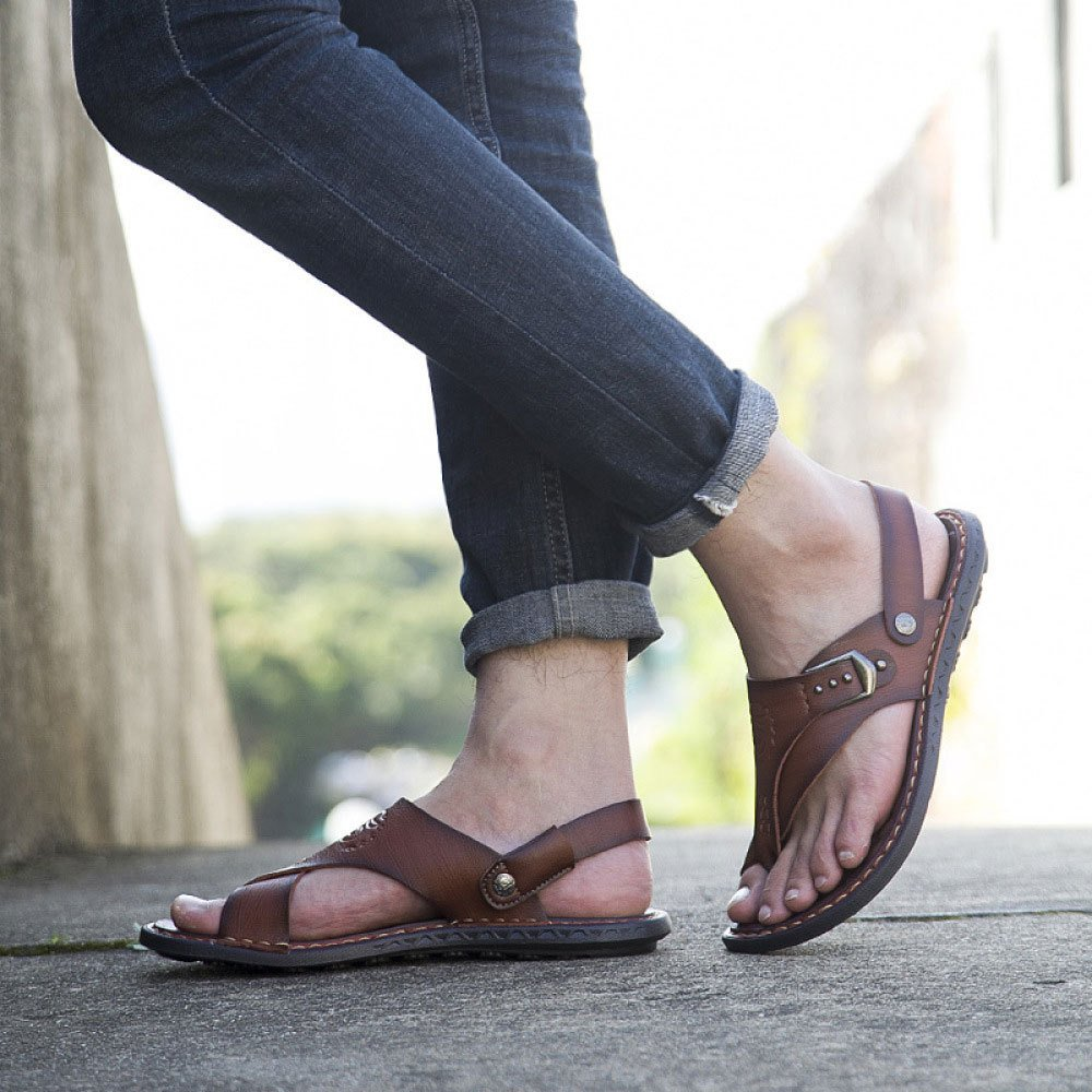 Mode Sandalen,DarkBraun-40 Herren Strand Schuhe Freizeitschuhe Sandalen,DarkBraun-40 Mode - e699af