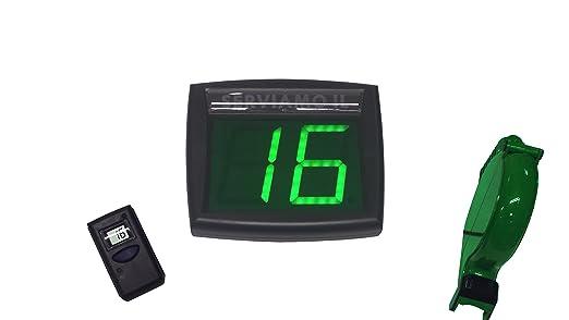 4 opinioni per Eliminacode Gestione code completo MY-TURN (Led verde) con Telecomando LCD