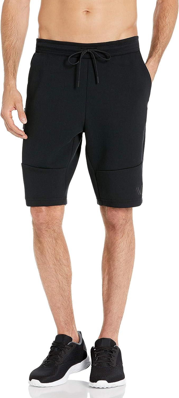 Amazon Brand - Peak Velocity Men's Metro Fleece Athletic-Fit Short