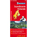 Carte NATIONAL Scandinavie, Finlande