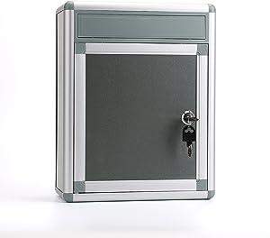 Fasmov Drop Box,Inter-Office Mailbox, 4.5 x 9.5X 12.5 Inches