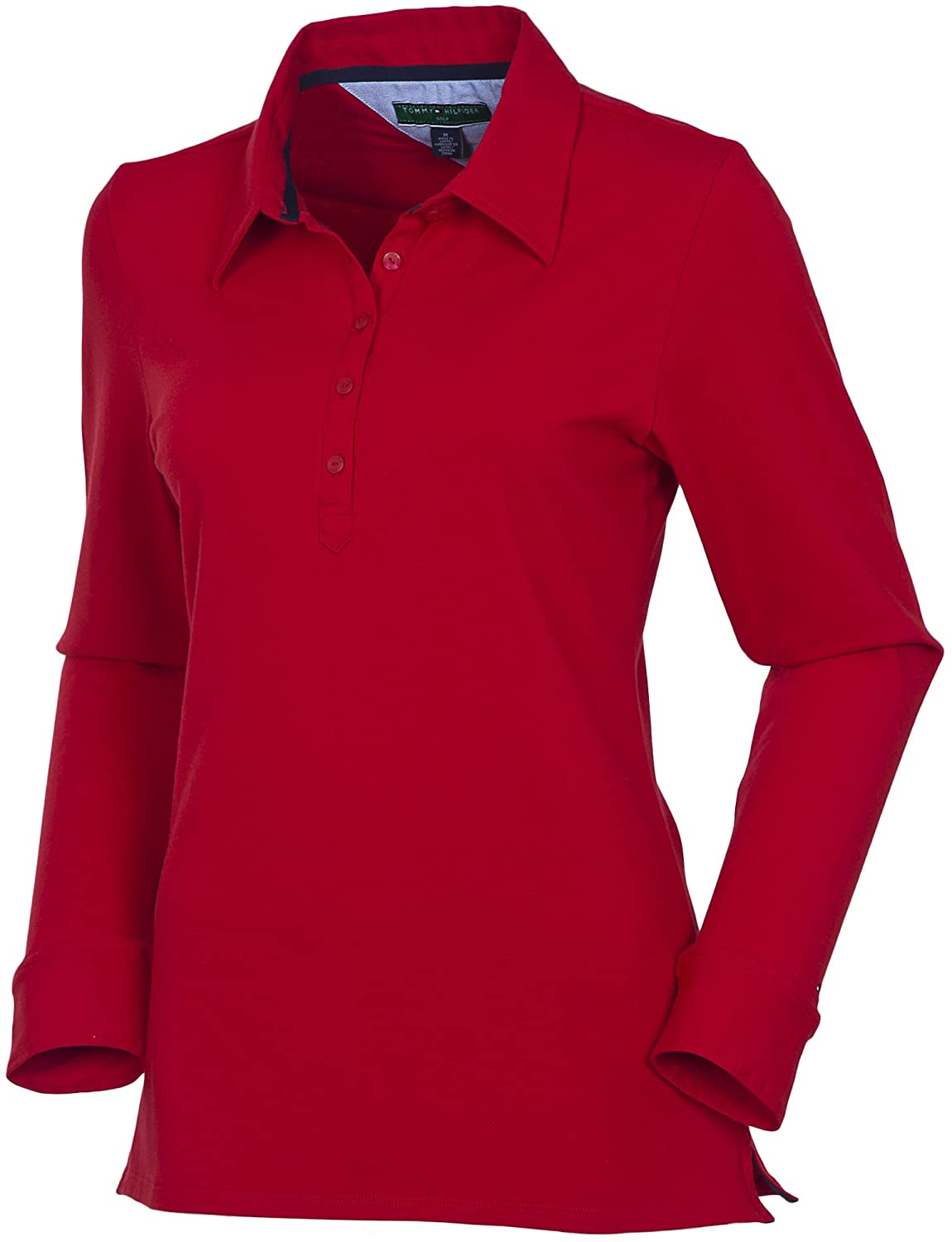 Tommy Hilfiger Lorraine Polo - Polo para Mujer, Color Rojo, Talla ...
