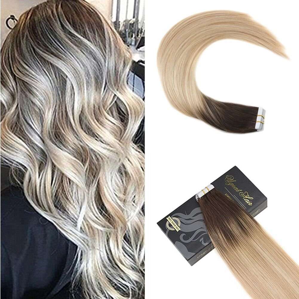 Amazon Ugeat 22inch Tape In Hair Extensions Real Remy Hair