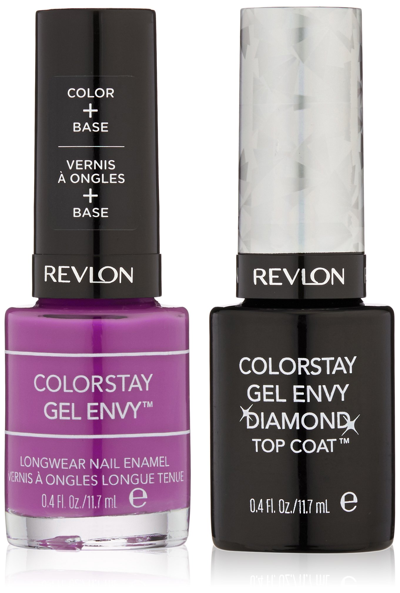 Amazon.com: Revlon ColorStay Gel Envy Longwear Nail Enamel, Queen of ...