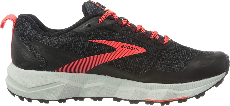 Brooks Divide, Zapatillas para Correr para Mujer Black Ebony Coral Lh2pj