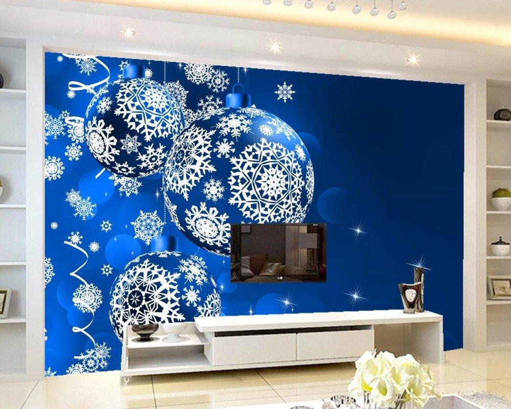 Yosot Benutzerdefinierte Wandbild Feiertage Weihnachten Farbige ...