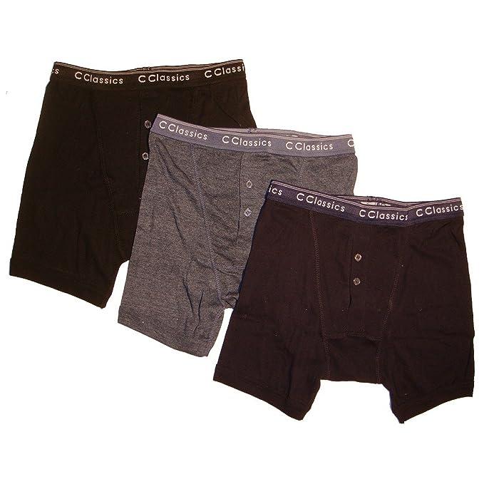 12 x Boy Kid Children Rib Elastic Waist Band Boxer Short Button Fly Underwear