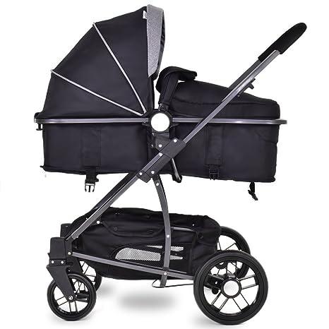 Costway - Multi cochecito, carrito de paseo combinado de estilo deportivo (accesorio portabebé)