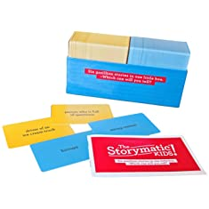The Storymatic Kids -- Hundreds of Cards -- Tell Stories, Play Games, Make Art, and More -- Includes Booklet with Prompts, Games, and Activities -- Made in USA