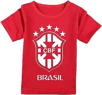 FMstyles Brasil Fan 2018 Kids Tshirt - FMS287