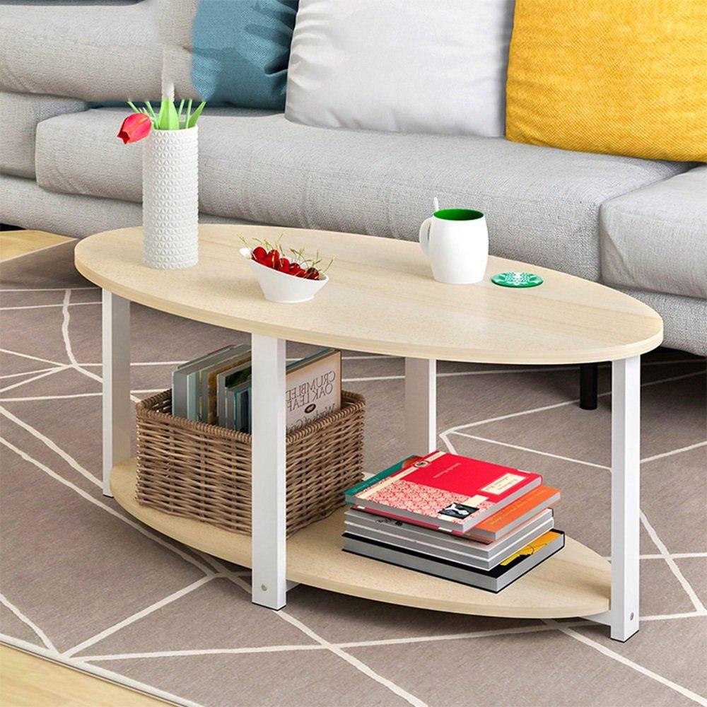 HUO,テーブル コーヒーテーブルソファーサイドテーブルローテーブルコーヒーテーブル 多機能 (色 : Maple sakura, サイズ さいず : 100 * 50CM) 100*50CM Maple sakura B07H6D3BYY