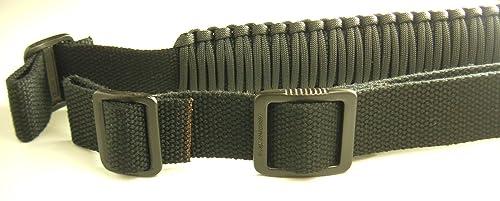 550 lb Para cord Survival 2-Point Rifle Sling