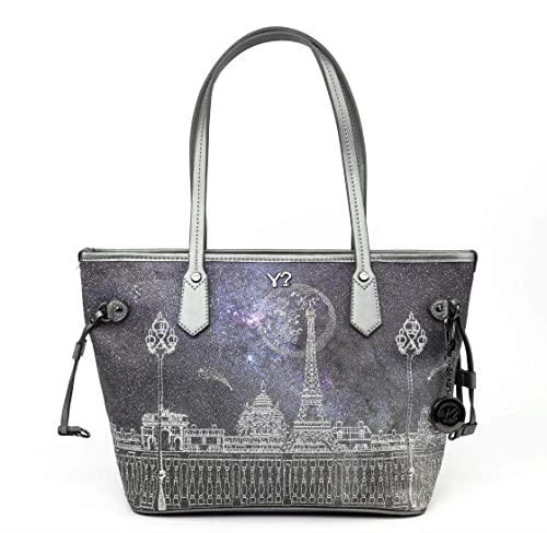 Borsa Y Not stampa Parigi cosmic k 336  Amazon.it  Scarpe e borse 8648db381af