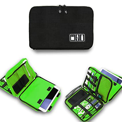 Perfect Universal Electronics Accessories Organizer, Waterproof Portable Cable  Organizer Bag,Travel Gear Carry Bag For
