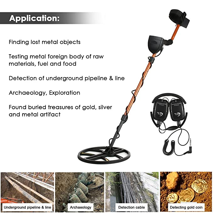 TIANXUN Professional High Sensitivity Underground Metal Detector Gold Digger Jewelry Hunting Treasure Search LCD Display Bigger 11.5