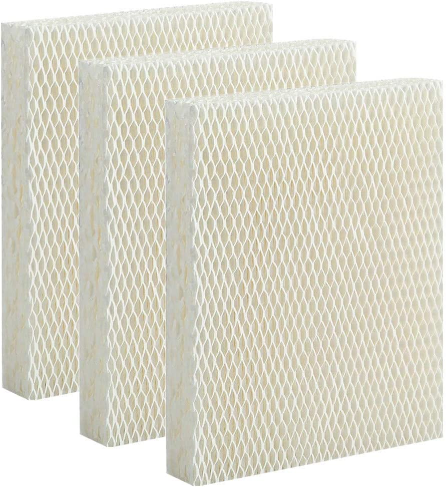 Lxiyu Humidifier Replacement Filter T for Honeywell HEV615 and HEV620 Humidifier Wicks,Compatible with Part # HFT600 (3 Pack)