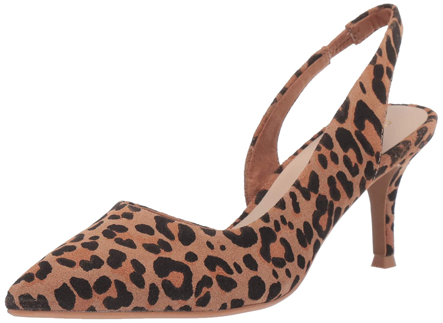 Leopard Seychelles Womens Ornament Heeled Sandal