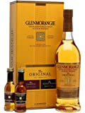Glenmorangie The Original 10 Year Old Malt Scotch Whisky Pioneer Gift Pack, 70 cl