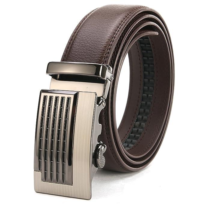 Minweier® cinturón de hombre para hombre con caja de regalo bXm5L6pv
