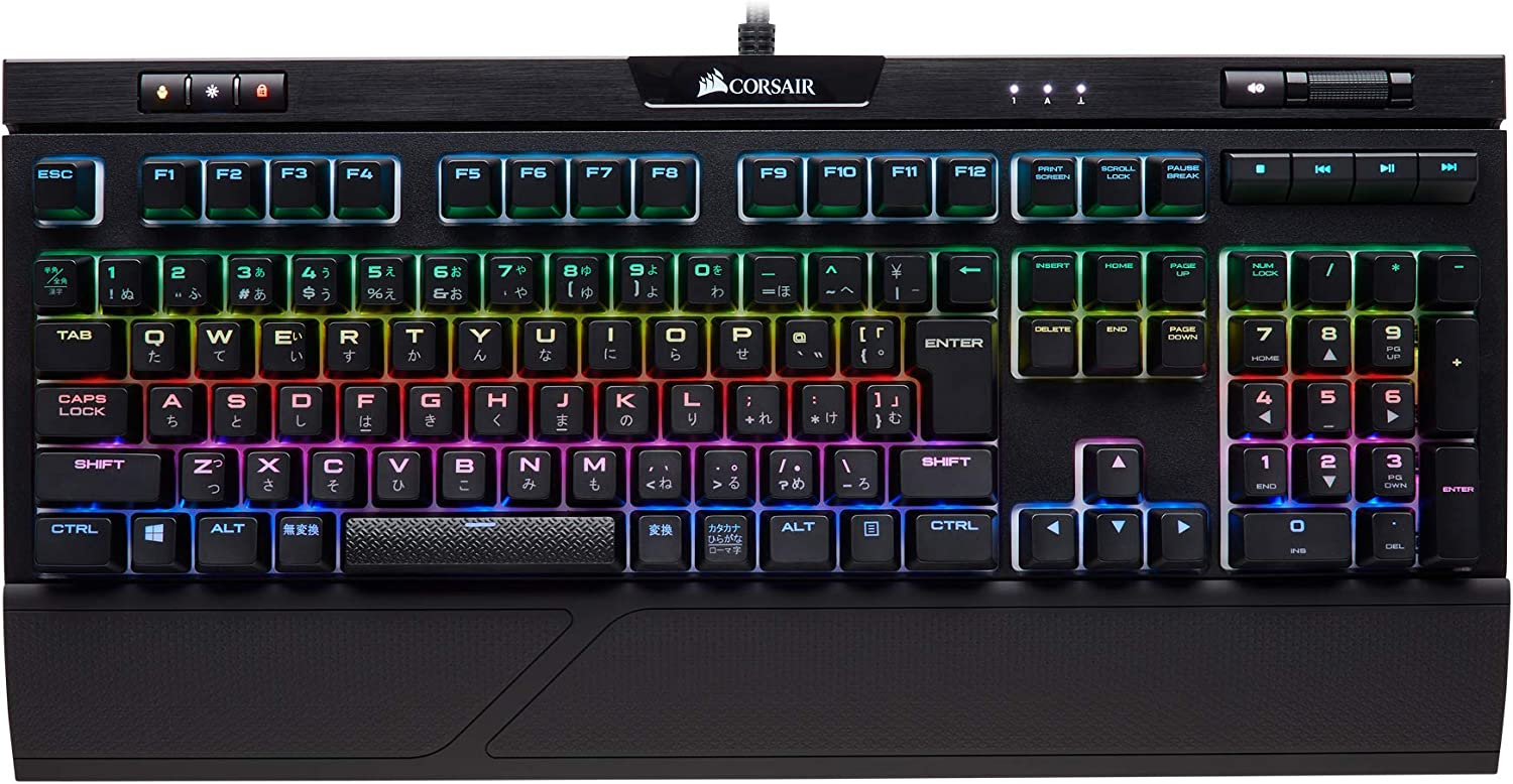 Corsair『K70 RGB MK.2 RAPIDFIRE MX Speed Keyboard(KB442 CH-9109014-JP)』