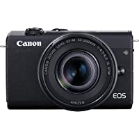 Canon EOS M200 Compact Mirrorless Digital Vlogging Camera with EF-M 15-45mm Lens, Vertical 4K Video Support, 3.0-inch…