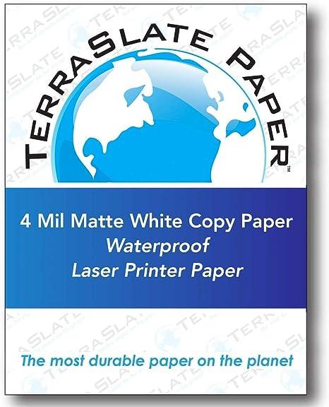 Amazon.com: TerraSlate Paper 4 MIL 8.5