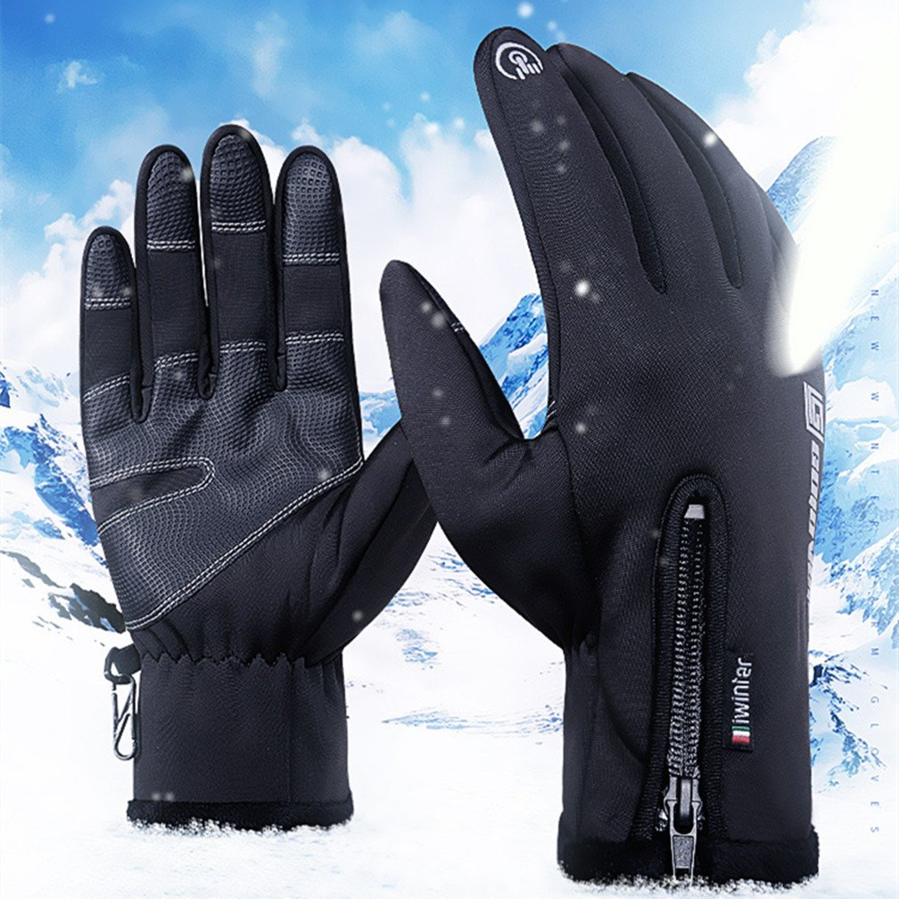 Winter Gloves Insulated Cotton Windproof Membrane in Cold Weather 20/°F Cold Proof Thermal Driving Touch Screen Glove