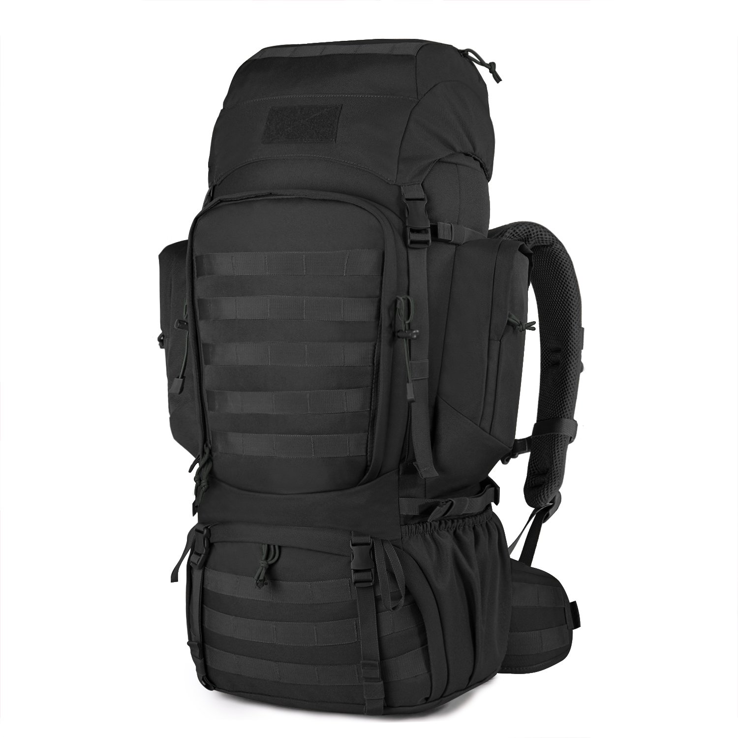 Mardingtop 50L 60L Hiking Backpack Molle Internal Frame Backpacks with Rain  Cover for Tactical Military eaf3432fb3c8a