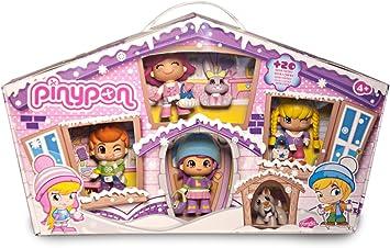 Pinypon - Pack de 4 Figuras y 2 Pets en la Nieve (Famosa ...