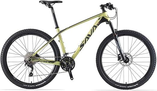 SAVADECK DECK6.0 Bicicleta de Montaña Carbono Ultraligera MTB de ...
