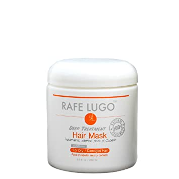 Amazon.com: Rafe Lugo Deep Treatment Hair Repair Mask, 8.5 fl. oz.: Beauty