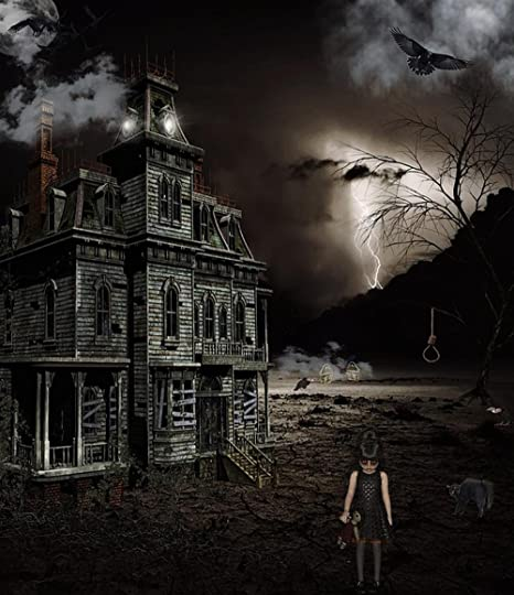 Amazon Com Laminated 24x27 Inches Poster Spooky Horror