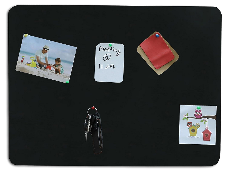 office pinboard. Marine Pearl (1.5 X 2 Feet)Black Pin Board, Wall Hanging, Photo Office Pinboard