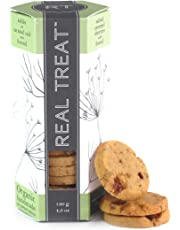 Real Treat Organic Cookies - Salted Caramel Shorties with Fennel