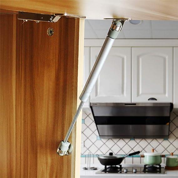 Juego de 2 muelles hidráulicos para puerta de muebles, 265 mm de longitud: Amazon.es: Bricolaje y herramientas